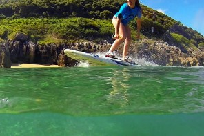 Aquila electric surfboards promise high-speed fun without the help of Mother Nature