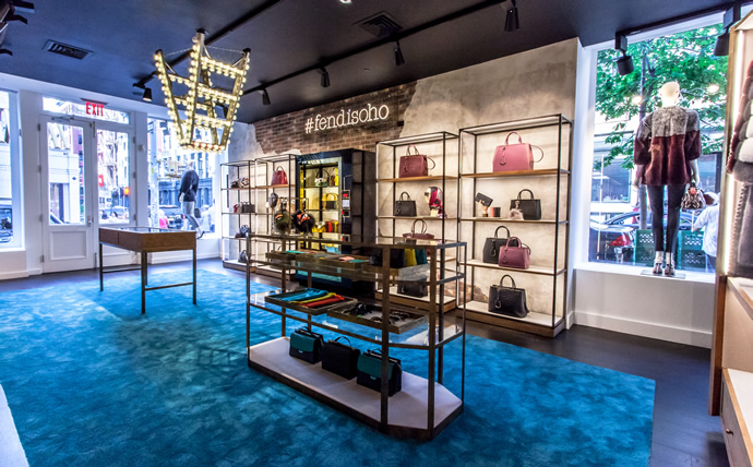 Fendi Sets Up Pop Up Store In Soho New York To Tantalize