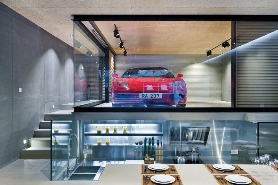 This Hong Kong Mansion S Owner Can Bring His Ferrari Into