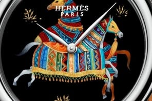 Hermès Arceau Cheval d'Orient mixes haute horology with French lacquer art