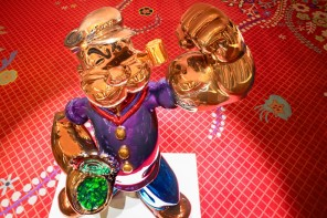 Jeff Koons' $28.2 million Popeye goes on public display at Wynn Las Vegas