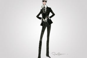 Coming soon: Karl Lagerfeld Barbie for grown ups
