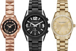 Karl Lagerfeld releases A/ W '15 line of watches and it includes a darling bracelet