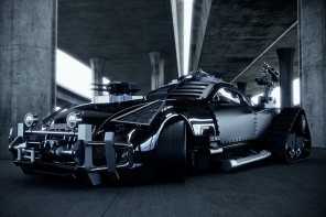 Jordanian designer transforms Maybach Exelero into the ultimate zombie fighting machine