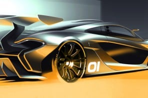$3.3 million track-focused McLaren P1 GTR previewed with a design rendering