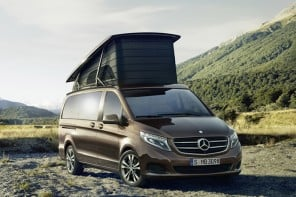 Mercedes unveils elegant Marco Polo camper van based on all-new V-Class