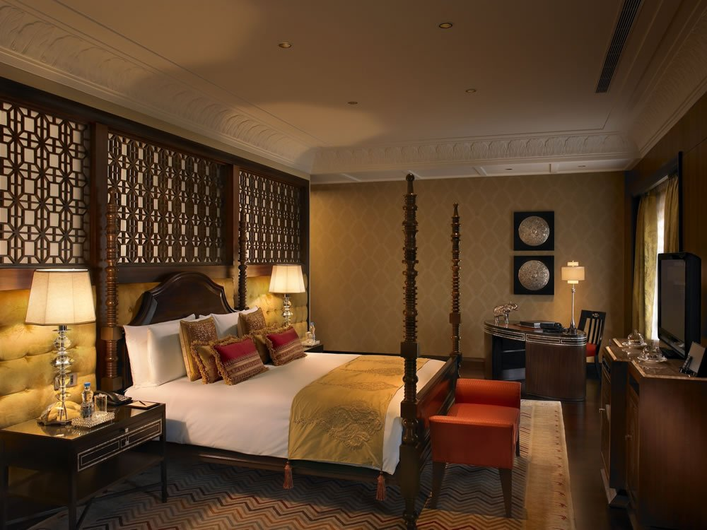 Suite of the week maharaja suite the leela palace for Bedroom designs delhi