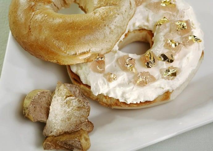 truffle-bagel