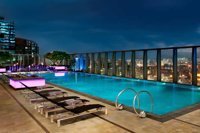 Relaxation Station Pool Lounge: 12 Best Hotel Pools In The World From Gold Plating To