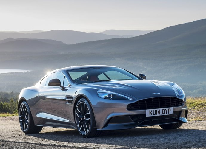 2015 Aston Martin Vanquish Rides In With A New 8 Speed