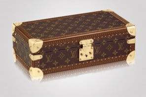 The 8 Watch Case by Louis Vuitton is for collectors on the move