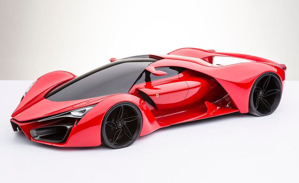 The coolest Ferrari F80 concept you will ever see : Luxurylaunches