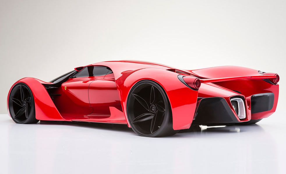 Cool Sports Cars Ferrari: The Coolest Ferrari F80 Concept You Will Ever See