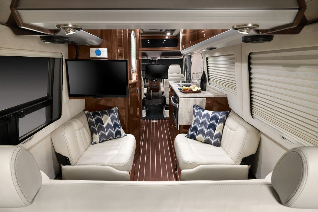 Last Year At The Los Angeles Motor Show Ohio Based Coach Builder Airstream Introduced 2014 Model Interstate Touring Which Features