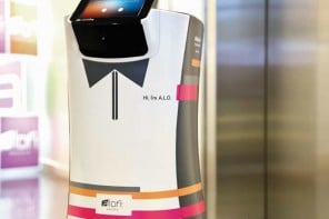 Cupertino's Aloft hotel hires robotic bellhops to provide room service