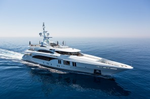 Take a look inside the largest boat at the Cannes yachting festival;