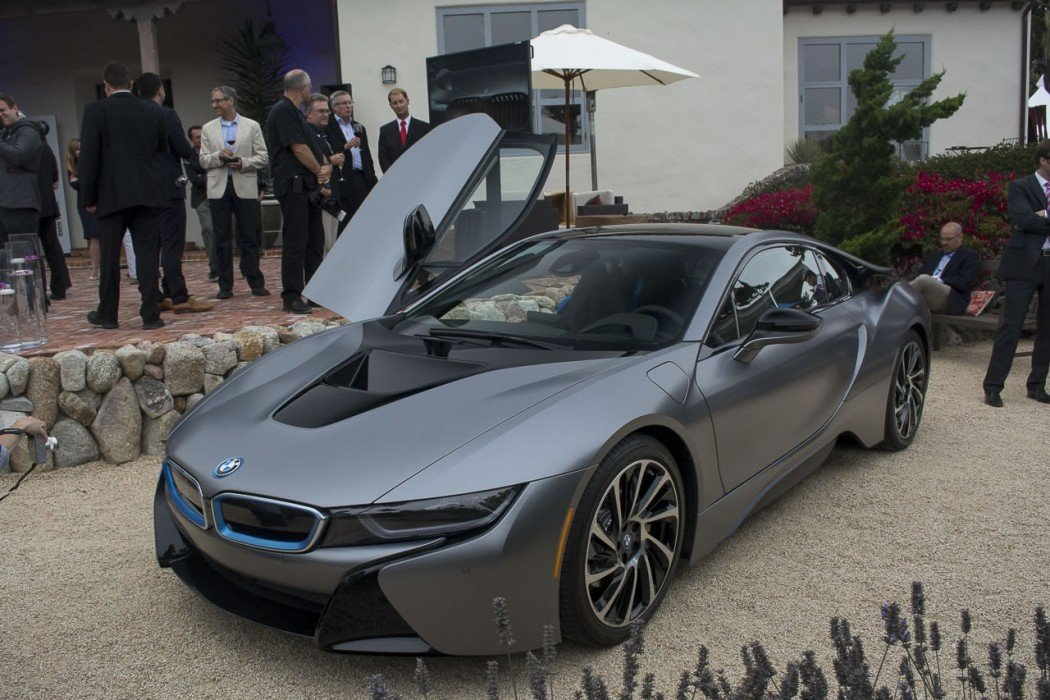 One Of A Kind Bmw I8 Concours D Elegance Edition Auctioned For 825k