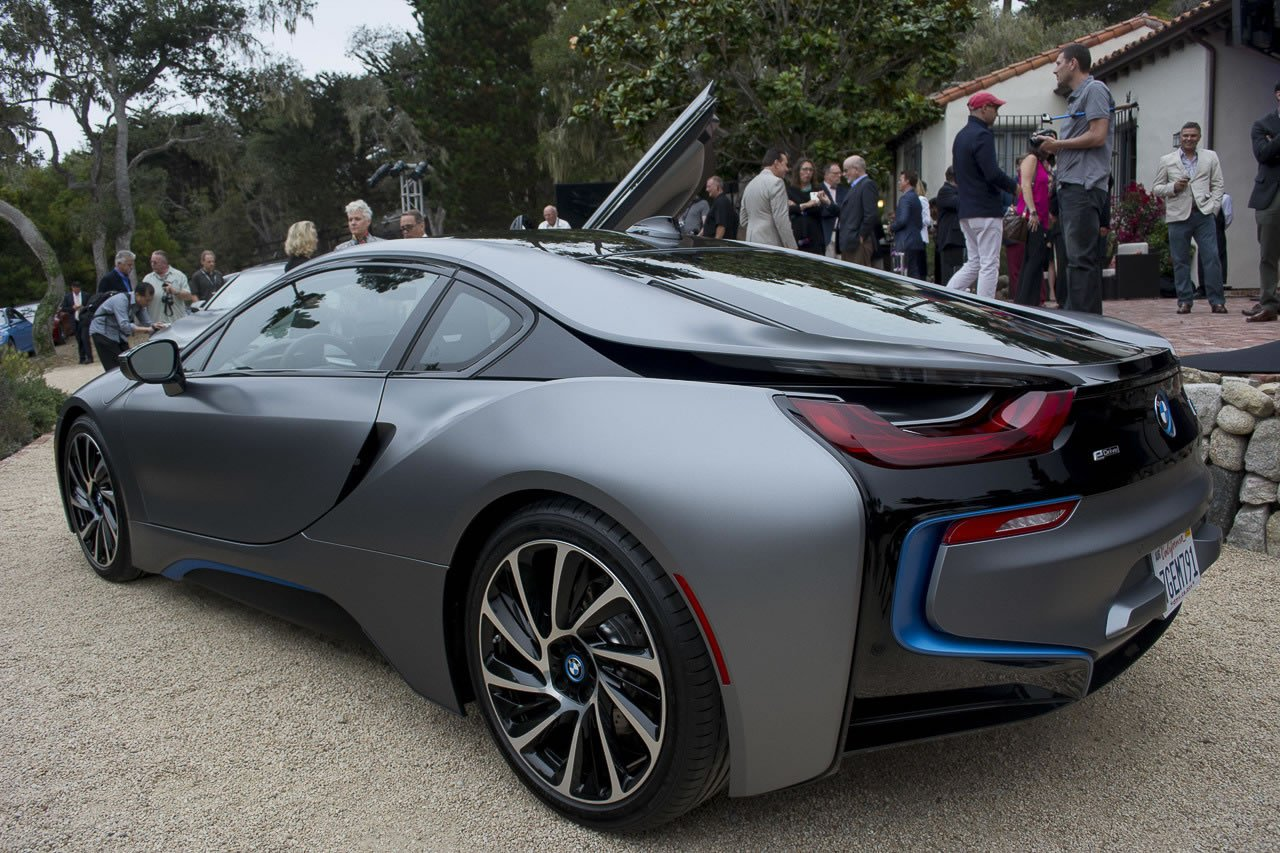 One Of A Kind Bmw I8 Concours D Elegance Edition Auctioned
