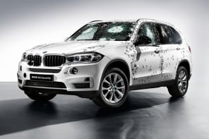 Bulletproof 2015 BMW X5 Security Plus for an Oligarch on budget