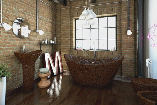 chocolate-bathroom-1