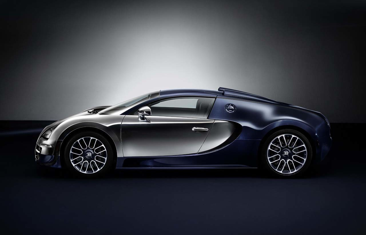 Final Les Legends Bugatti Veyron dedicated to company ...