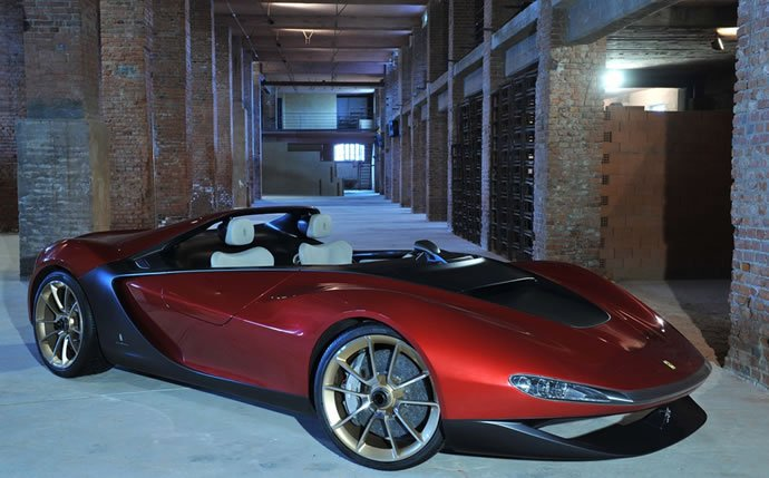 Ferrari announces the production of radical Pininfarina Sergio roadster