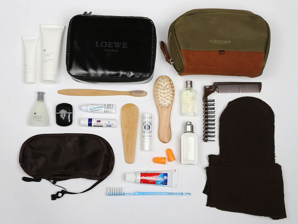 We Pick The 10 Best First Class Airline Amenity Kits