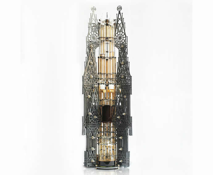 Gothic Steampunk coffee machine looks evilishly cool : Luxurylaunches