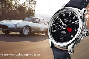 Bremont partners with Jaguar to create limited edition Lightweight E-Type Chronometer watch