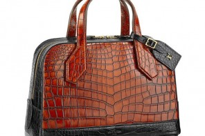 Splurge: Louis Vuitton's Dora PM Crocodile bag for $54,500