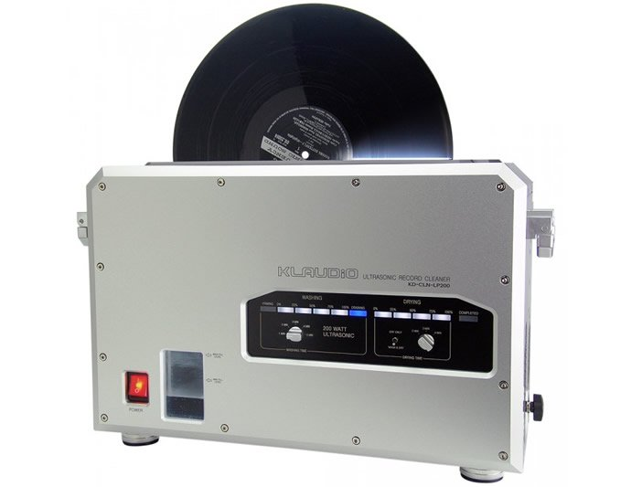 Klaudio Unveils An Ultrasonic Lp Record Cleaning Machine