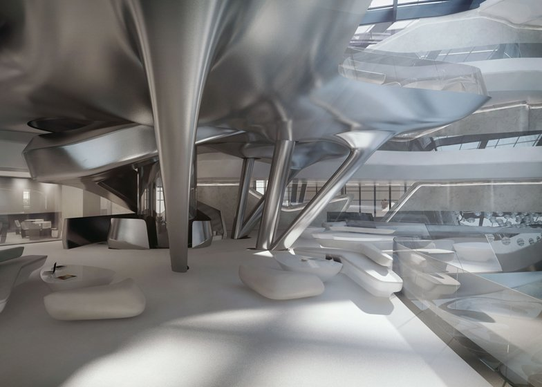 A luxurious spaceship take a look inside the me dubai for Interior design zaha hadid