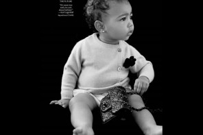Aged 13 months Kimye's baby daughter North West makes her modelling debut in Chanel