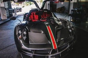 Pagani builds Huayra La Monza Lisa special edition for a wealthy American client