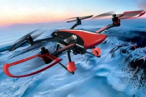Sky Rider Drone: it's the Ferrari of the skies designed by Pininfarina