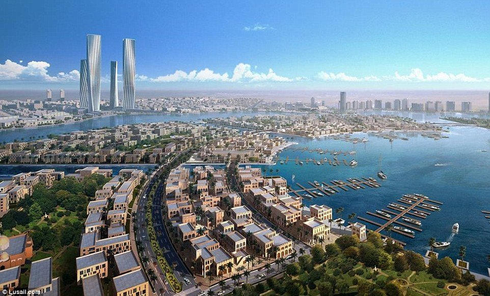 Inside the $45 billion Smart City that Qatar is building from scratch for the 2022 World Cup