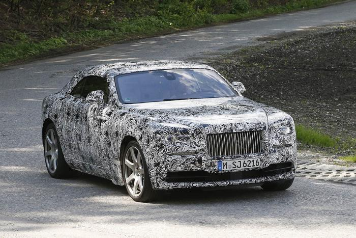 Rolls Royce confirms new Drophead convertible model for 2016 -