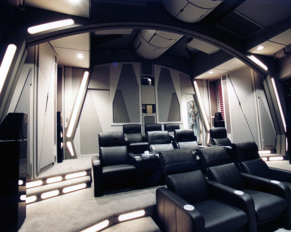 Take A Glimpse At The Ultimate Star Wars Home Theater
