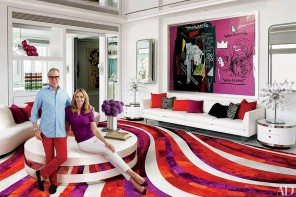 Pop Art meets disco flair in Tommy Hilfiger's lavish 14,000 sq feet Miami mansion