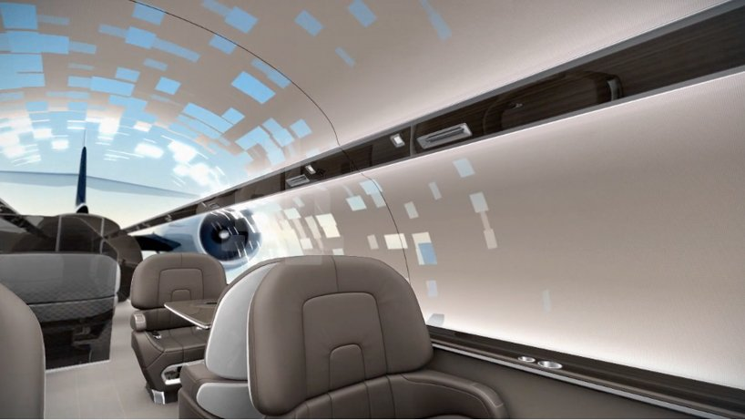 Ixion Windowless Private Jet Concept Offers Immersive