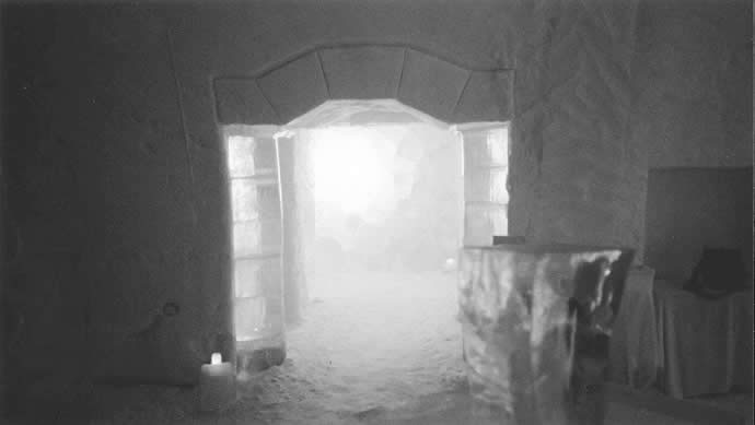 ICEHOTEL mid-1990s