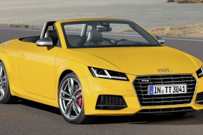 2015 Audi TT and TTS Roadsters revealed
