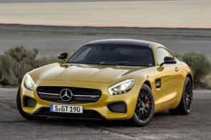 2016 Mercedes-AMG GT debuts with a sleek design and the turbocharged V8