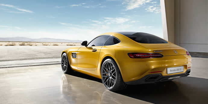 2016 Mercedes Amg Gt Debuts With A Sleek Design And The Turbocharged