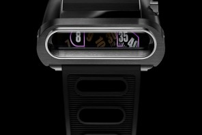 A watch that is inspired by a Lamborghini and made of a new exotic polycarbonate material