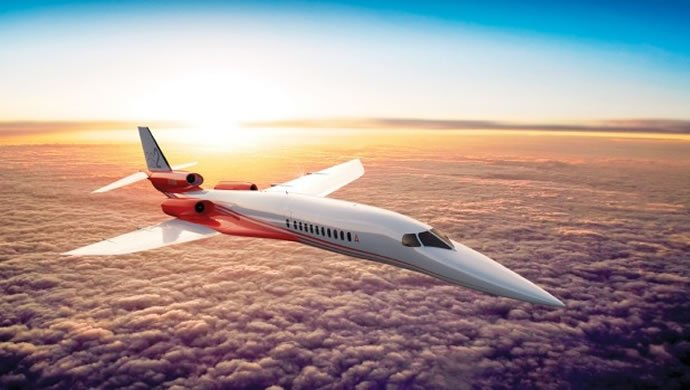 Airbus is making a supersonic business jet that can fly from SF to Tokyo in under 5 hours -