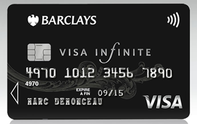 Image result for barclays visa black card