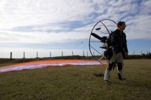 Live the life of an adventurer with Bear Grylls Paramotor