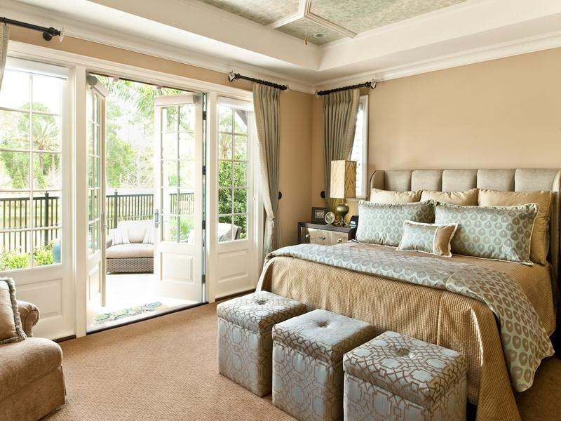Love your home designing a bedroom with style quotient for Luxury balcony design