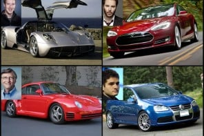 10 Tech billionaires and the humble and the not so humble cars they drive
